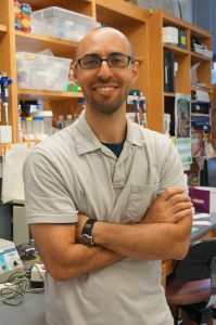Dr. Todd Cohen in his lab