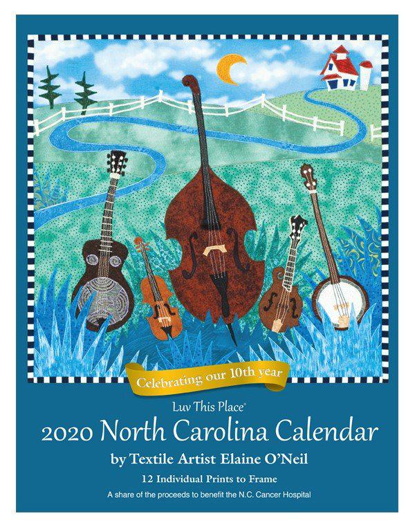 Elaine O'Neil calendar cover